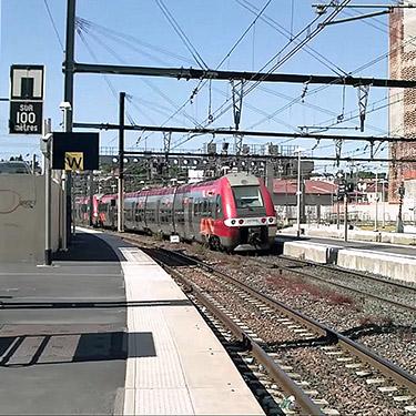 En attendant mon train