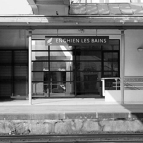 Photo Gare Enghien les Bains